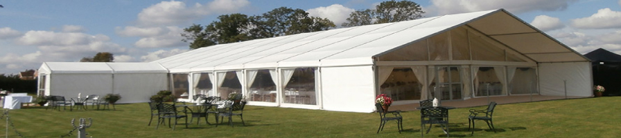Marquees of every size and shape