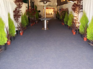 Wow your guests with a stunningly decorated entrance