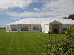 Will a marquee ruin my lawn
