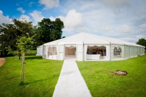 Quality wedding marquee